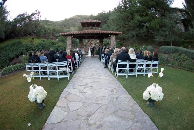 Pala Resort Wedding Ceremony